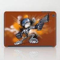 robocop iPad Cases featuring Robocop by alexviveros.net