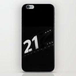 casino 21 iPhone Skin