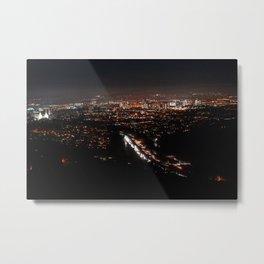 Night Lights-2 Metal Print