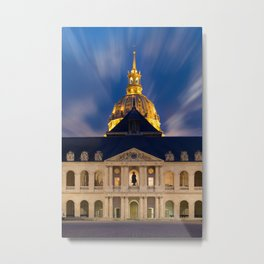 the Hotel of the invalids in Paris Metal Print