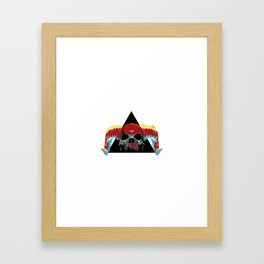 Illuminati Satan - Lucifer Framed Art Print