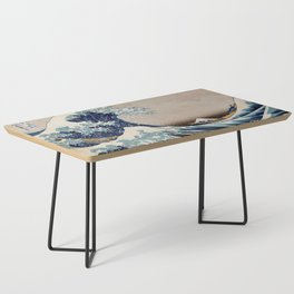Under the Great Wave by Hokusai Coffee Table