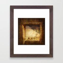 Caravanserei Framed Art Print
