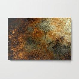 Rust Texture 69 Metal Print