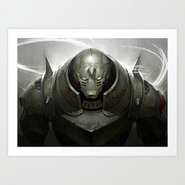 Full Metal Alchemist Alphonse Art Print