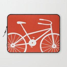 Red Bike by Friztin Laptop Sleeve