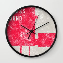 Evolution In Bass Sound Wall Clock