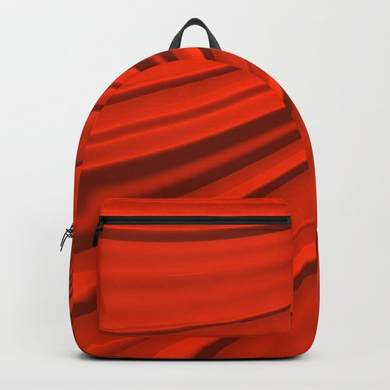 Renaissance Red Backpack