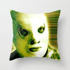 La Lucha - Green Edition Throw Pillow