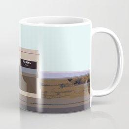 Marfa Installation: A digital illustration Coffee Mug