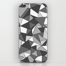 Ab Collide Grey iPhone Skin