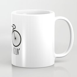 They See Me Rollin' Bicycle - Men's Fixie Fixed Gear Bike Cycling Coffee Mug