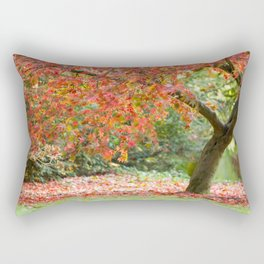 Fall Acer Tree Rectangular Pillow