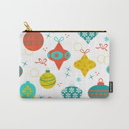 Mod + Merry Christmas Ornaments Carry-All Pouch