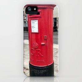 London post office box iPhone Case