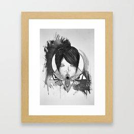 Shut Your Moth Framed Art Print