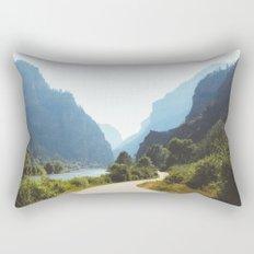 Hanging Lake Trailhead, CO Rectangular Pillow
