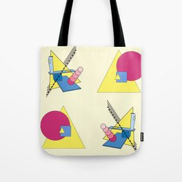 The Shape Haus: a Contemporary Bauhaus Composition Tote Bag