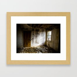 Upstairs Room Framed Art Print