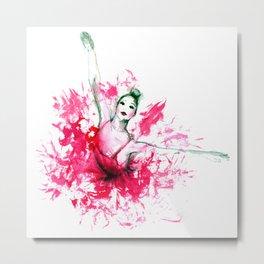 Bailarina Metal Print