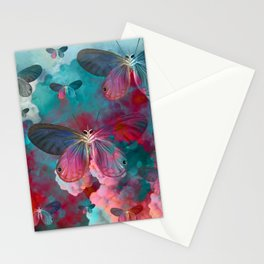 """""""Spring Butterfly love"""" Stationery Cards"""