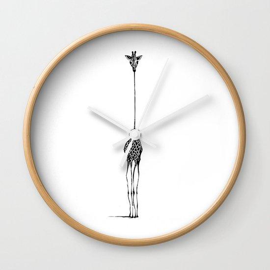 Giraffe Wall Clock