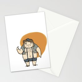 Minijobs (Spanish version) Stationery Cards