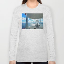 Souris Lighthouse View from the Top Long Sleeve T-shirt