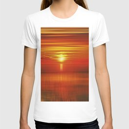 Irish Sea Sunset T-shirt
