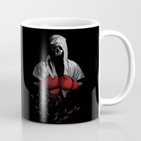 boxing Mugs featuring Death Boxing by tshirtsz