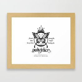 Polyjuice - From The Apothecarium of Horace E. F. Slughorn Framed Art Print