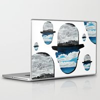 magritte Laptop & iPad Skins featuring Ceci n'est pas une Magritte by Condor
