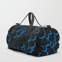 3D Futuristic Cubes Duffle Bag