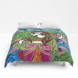 The Indian Fisher Woman Comforters