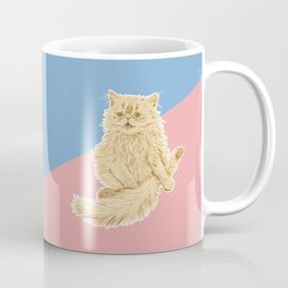 Persian Cat Meow Coffee Mug