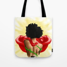 Black Rose X SoulBrothaARTS Tote Bag