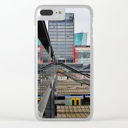 Lille train station Clear iPhone Case