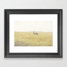 picture perfect::kenya Framed Art Print