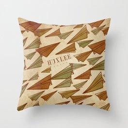 Huxlee Music Merch Throw Pillow