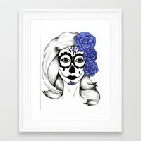 gothic Framed Art Prints featuring Gothic by bexchalloner