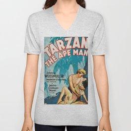 Tarzan The Ape Man Unisex V-Neck