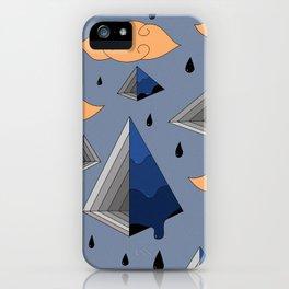 Blue Py iPhone Case