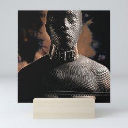 Fetish Style - Male man Masked Mini Art Print