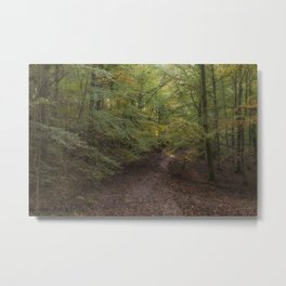 Autumn on Bradley Hill Metal Print