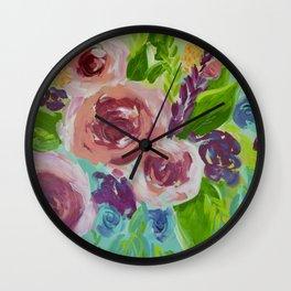 Vivid & Sassy Wall Clock