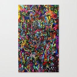 Voltage Canvas Print