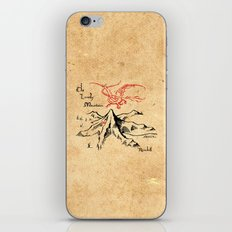 Smaug and The Lonely Mountain iPhone & iPod Skin
