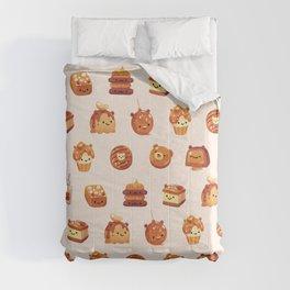 Salted caramel bear Comforters