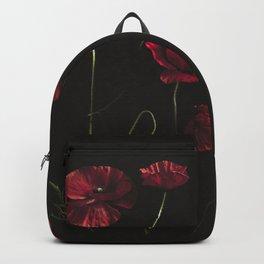 Moody Poppies Backpack