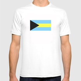 bahamas country flag T-shirt